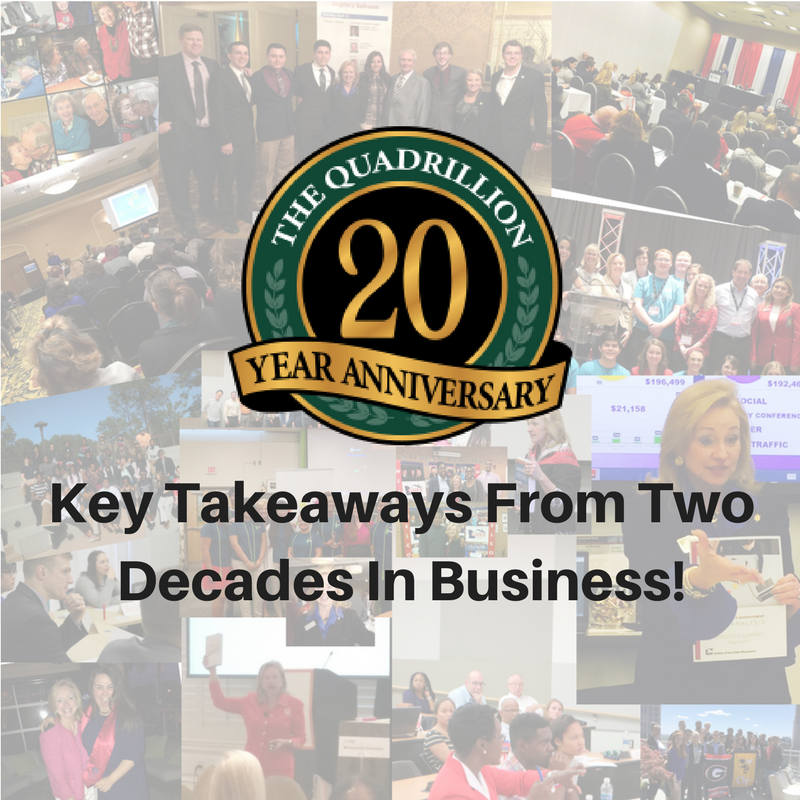 Key Takeaways From Two Decades In Business